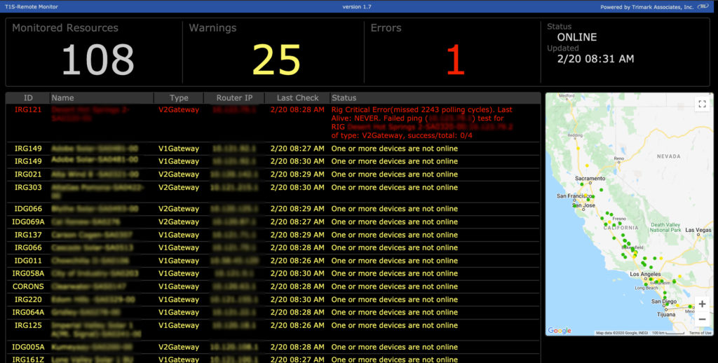 Trimark Operations Center Announces Advanced Alerting System for Utility-Scale Solar Sites