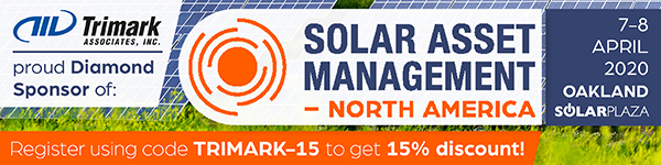 Join Trimark at the Solar Asset Management (North America) Conference, April 7-8, in Oakland, CA